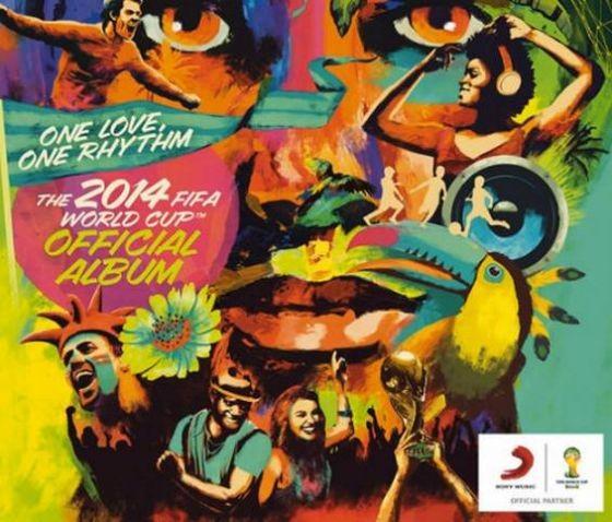 Capa do lbum oficial da Copa do Mundo 2014 (Foto: Reproduo)