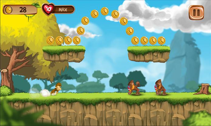 Banana Island é um divertido game de aventura para o seu Windows Phone 8 (Foto: Divulgação/Windows Phone Store)