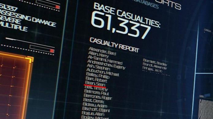 Nome do ator Sean Bean está na lista de vítimas da UAC no novo Doom (Foto: Reprodução/GameRanx)