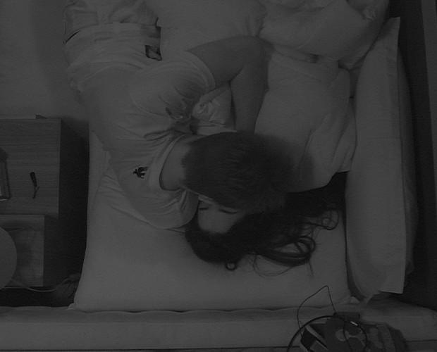 Rafael e Talita beijo_02 (Foto: Foto: Big Brother Brasil)