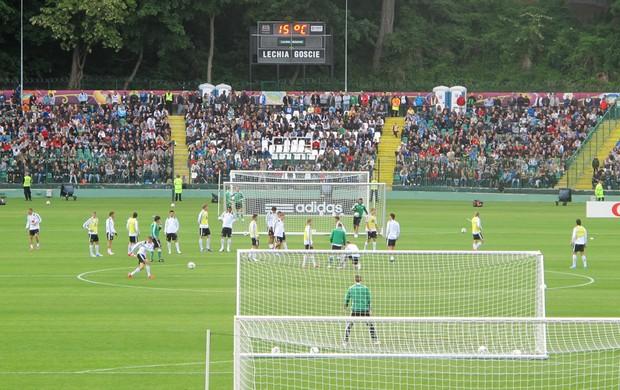 Treino Alemanha (Foto: Victor Canedo / Globoesporte.com)