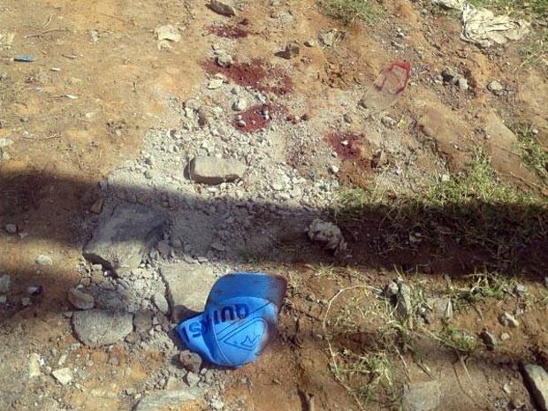 homicídio tiro Bairro Belvedere 2 Divinópolis MG (Foto: Polícia Militar/Divulgação)