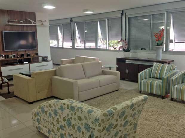 Apartamento funcional recém-reformad na área central de Brasília (Foto: Nathalia Passarinho/ G1)