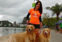 Cachorros velozes  estimulam Claudia (Igor Christ)