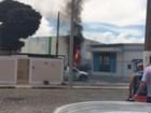 Incêndio atinge estação de tratamento de água em Lorena , SP