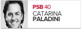 Catarina Paladini, PSB, candidato de Pelotas (Foto: Arte G1)