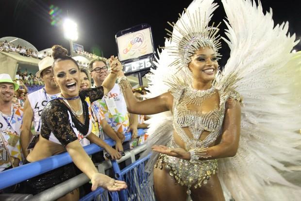 Juliana Alves e Viviane Araújo (Foto: Claudio Andrade/ Foto Rio News)
