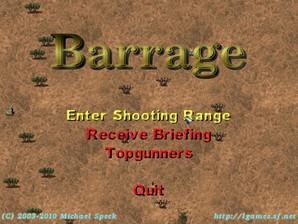 Barrage, jogo de tiro