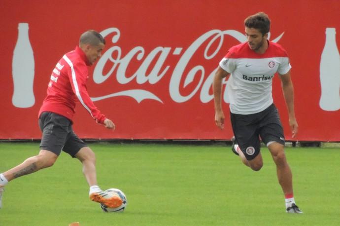 inter treino dalessandro cláudio winck (Foto: Eduardo Deconto/GloboEsporte.com)