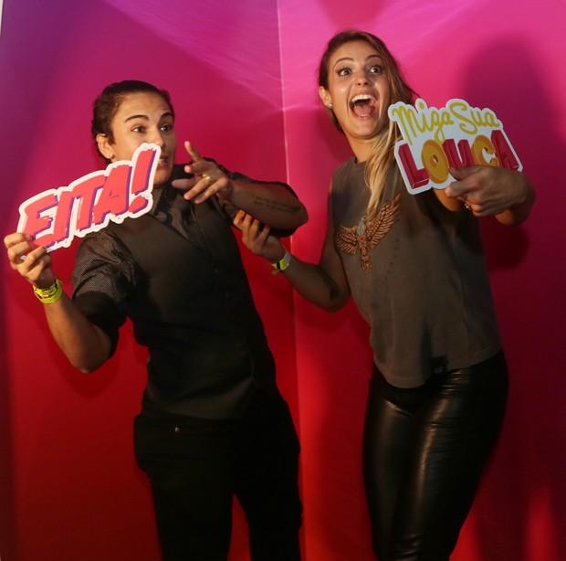 Jéssica Andrade e Poliana Botelho (Foto: Iwi Onodera/Ed. Globo)