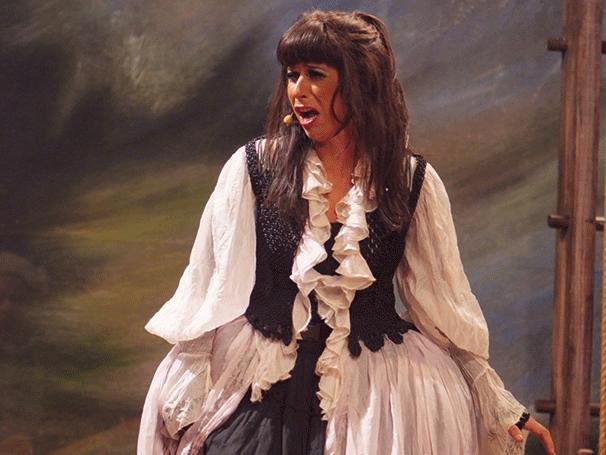 Andréa Beltrão em 'Jacinta', em 2013 (Foto: Divulgação/Lenise Pinheiro)