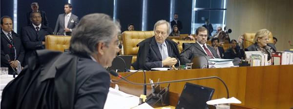 Sessão desta quarta no STF, em que maioria votou por dar maior tempo ao PSD (Foto: Gervásio Baptista/SCO/STF)