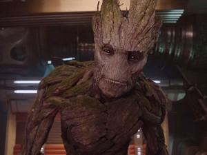 Groot, personagem de Vin Diesel em 'Guardiões da galáxia' (Foto: Divulgação)