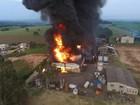 'Vi ele em chamas', diz motorista sobre vítima de incêndio em empresa