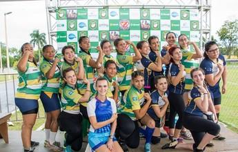 Meninas do Cuiabá Rugby disputam etapa do Pequi Nations em MS