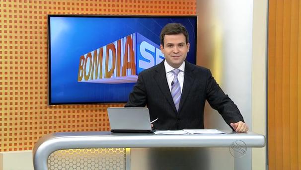 Lyderwan Santos, apresentador do Bom Dia Sergipe. (Foto: Divulgação / TV Sergipe)