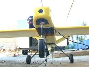Com autonomia de 12 horas de voo, pode ser usado para mapear áreas (Foto: Marlon Tavoni/EPTV)