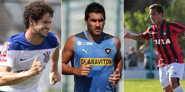 Corinthians joga contra o Santos pelo Paulistão, e Botafogo e Atlético Paranaense viajam para a Libertadores (Foto: globoesporte.com)