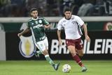 Substituídos no intervalo, Egídio e Cleiton Xavier preocupam Palmeiras