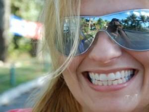 Filha de deputado foi assassinada na Avenida T-63, em Goiânia (Foto: Reprodução TV Anhanguera)