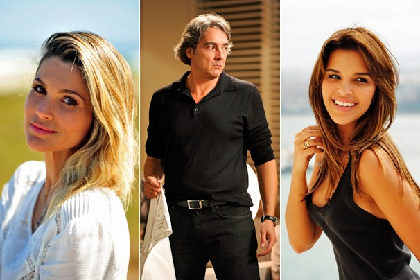 O elenco da nova novela das 7 ainda tem Flávia Alessandra, Alexandre Borges e Mariana Rios, entre outros (Foto: Globo)