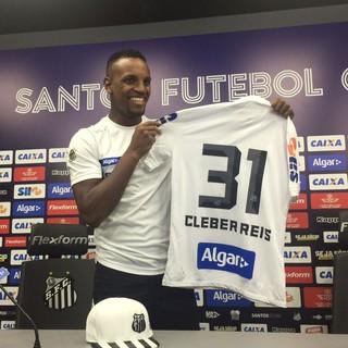 Cleber Santos (Foto: Lucas Musetti)