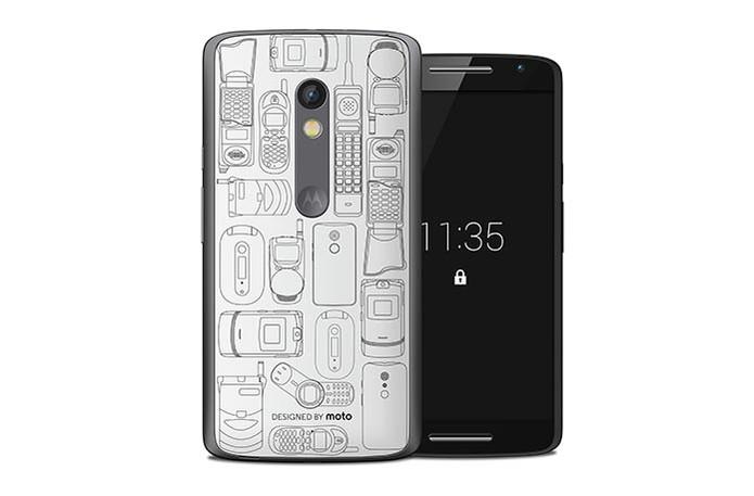 Modelo da capinha Moto Retrô reúne celulares antigos da Motorola (Foto: Divulgação/Motorola)