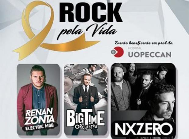 Rock pela Vida (Foto: Divulgação/ RPC)