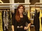 Giovanna Antonelli participa de lançamento de coleção de grife no Rio