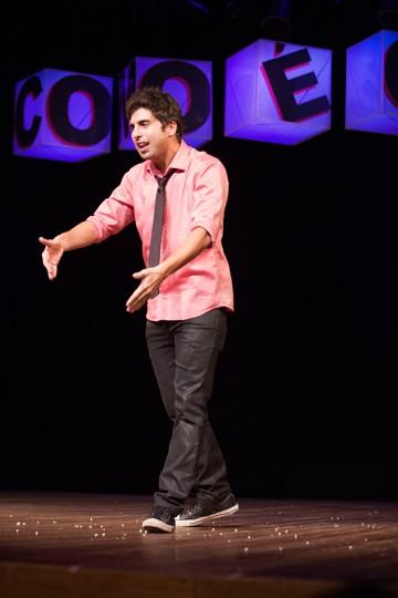 Gabriel mistura humor e ilusionismo em seu show (Foto: Divulgação)