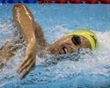 Ucranianos voltam a dominar, e Andre Brasil fica fora do pódio nos 400m livre