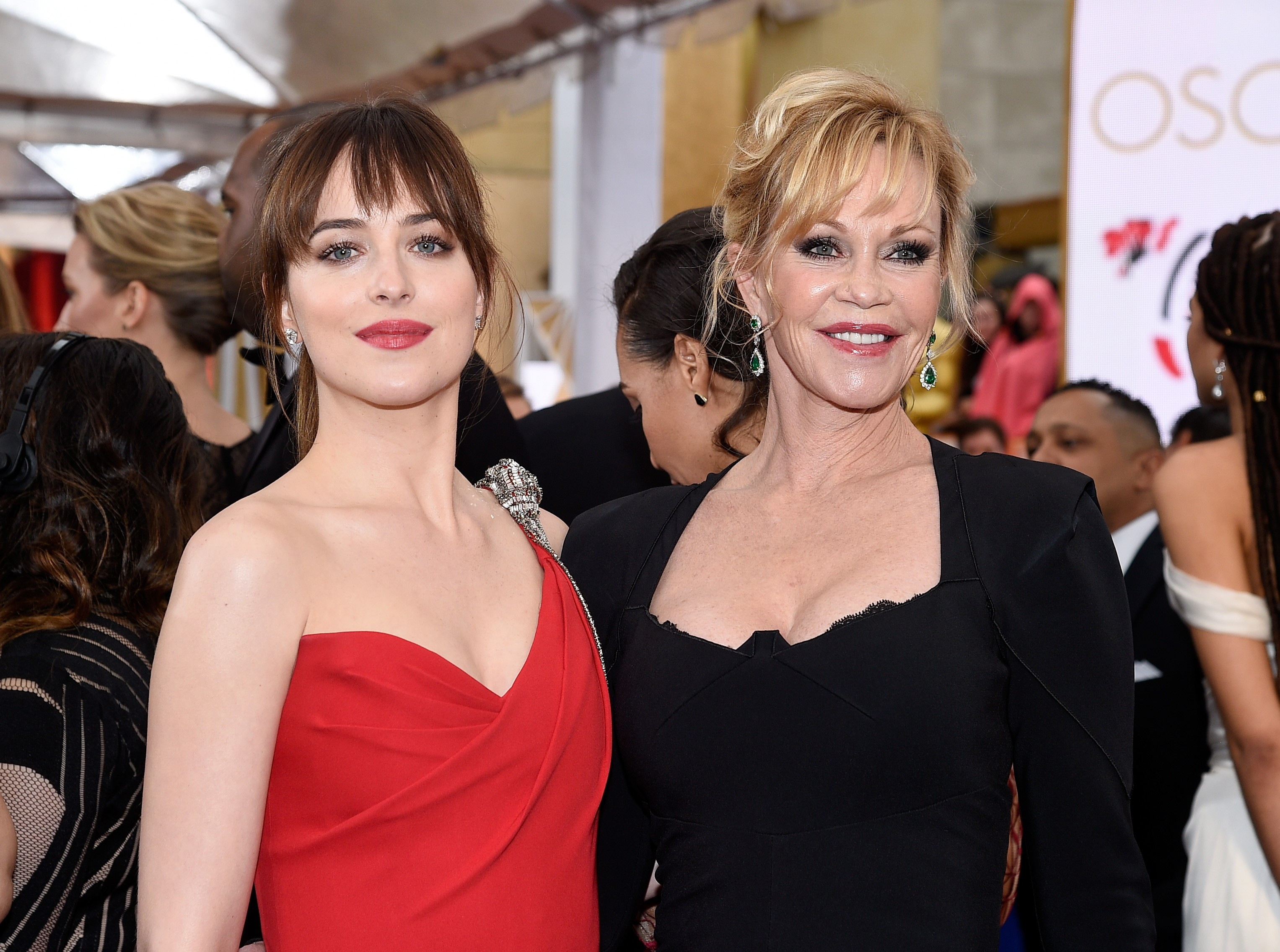 Dakota Johnson E Melanie Griffith (Foto: Getty Images)
