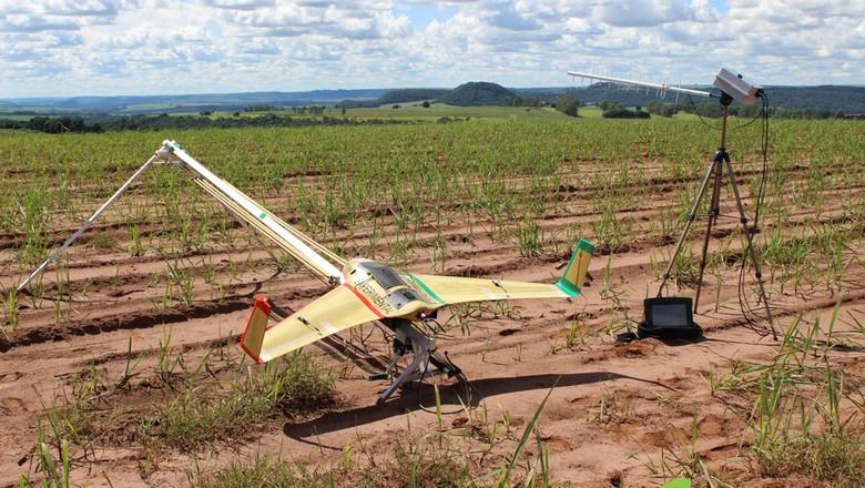 xmobot_lavoura_drone_falhas_tecnologia (Foto: Divulgação )