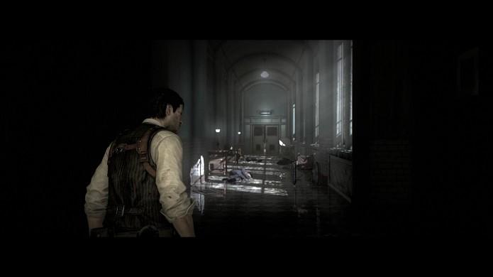 O macabro mundo do jogo esconde misteriosas estátuas (Foto: Reprodução/Victor Teixeira)