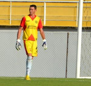Thiago Luiz, goleiro da Amax (Foto: Nathacha Albuquerque)