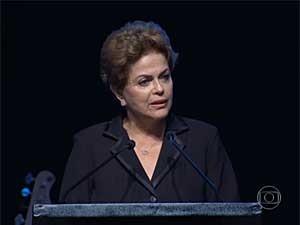 Dilma Rousseff (Foto: Reprodução / TV Globo)