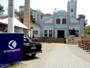 Teatro Municipal Usina Gravatá Divinópolis MG Flid (Foto: Luiz Humberto Franca/G1)