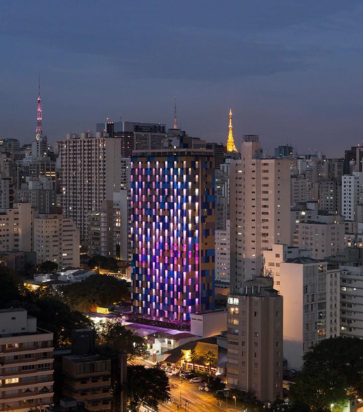 WZ Hotel é sinônimo de modernidade e conforto (Foto: Divulgação)