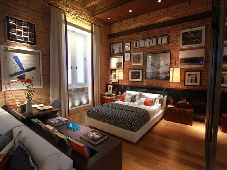O estilo do seu quarto veja seis inspira es para decorar for Como amueblar un loft de 35 metros