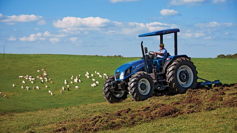 agricultura_maquina_grao_trator_newholland (Foto: Divulgação/New Holland)