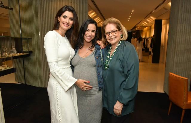 Isabela Fiorentino, Renata Mata Pires e Vanda Jacintho (Foto: Divulgação)