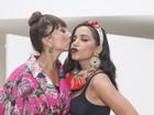 Anitta, Sabrina Sato, Grazi Massafera, Fernanda Lima e outros famosos curtem festa em São Paulo