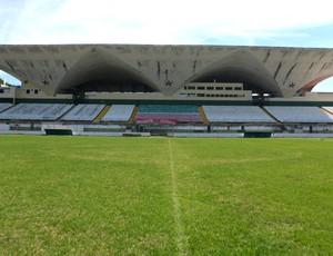 Estádio Luso Brasileiro, na Ilha (Foto: Divulgação / Site Oficial da Portuguesa RJ)
