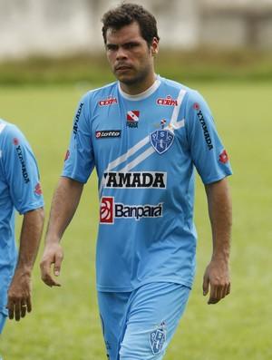 Rodrigo Alvim, lateral-esquerdo do Paysandu (Foto: Marcelo Seabra/O Liberal)