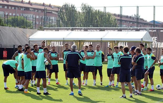 treino Barcelona   (Foto: MIguel Ruiz / FC Barcelona)