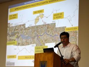 Audiência pública em Piracicaba - Projeto da barragem de Santa Maria da Serra - José Roberto dos Santos (Foto: Thomaz Fernandes/G1)