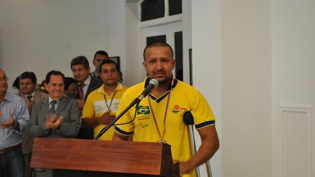 José Matos Filho, paratleta piauiense (Foto: Juarez Oliveira/ Seid)