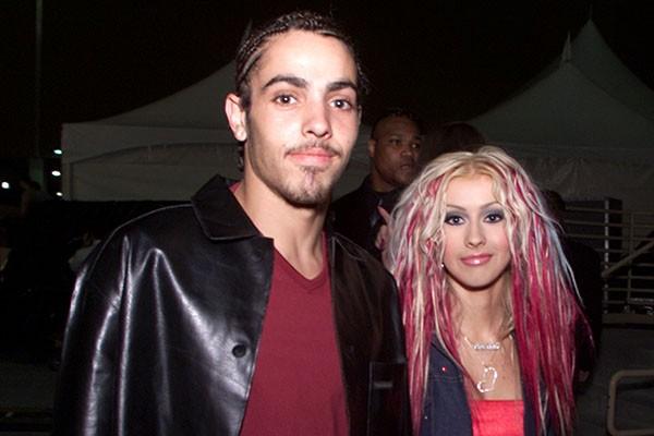 Christina Aguilera e Jorge Santos (Foto: Getty Images)