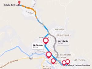 Transporte, carnaval, Sul de Minas, Santa Rita do Sapucaí, MG (Foto: Arquivo/Hit the Road)