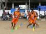 Pré-temporada do Tupy-ES começa com treinos físicos na praia de Itapuã